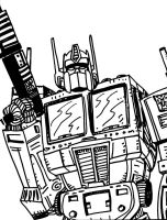 Transformers daily sketchbook challenge by exspasticcomics