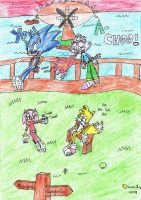Sonic and Co. visit Apotos Col by SonicMon