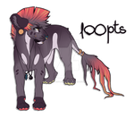 1OOpts LIONESS ADOPT - CLOSED by borzoi-lover