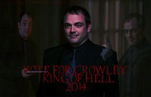 Vote For Crowley 2014 by FalloutDiscord