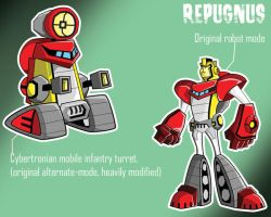 Repugnus: animated OG by ActionChad