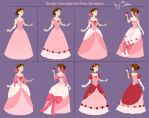 Princess Rose Dress Concept by MusicalNumber