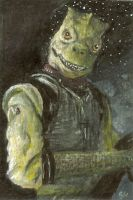 bossk sketch card by slave-roc