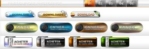 PSD Buttons by Humadesign