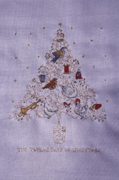 Twelve days of Christmas, WoXS 209 by StitchingDreams
