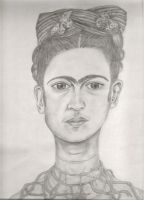Frida Kahlo by x-hamster-x
