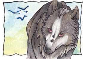 ACEO - Ad Infinitum by AnarchyWulf