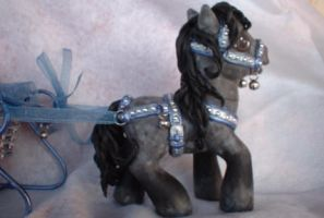 Dapple Christmas Pony NDS by AdeCiroDesigns