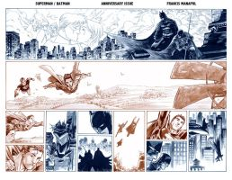 Superman Batman 75 by manapul