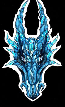 Ice dragon by anays555