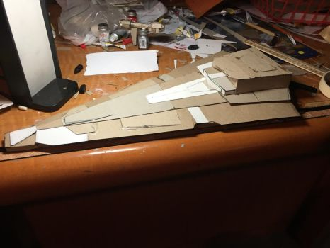 Star Wars WIP Imperial I class Star Destroyer by Cromwell300