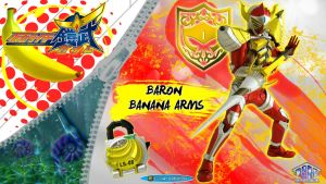 Kamen Rider Baron Banana Arms by blakehunter