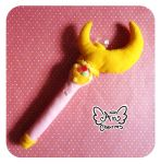 .: Sailor moon - Crescent moon wand :. by Angeru-Charms