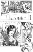 Last Brotherhood Pencils page1 by CAGutierrez