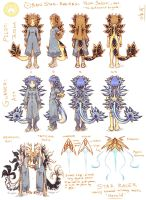 Team Selesti: the Nudibranch Brigade by Jesseth
