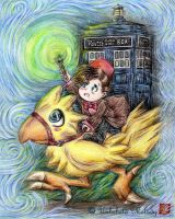 The Doctor's Ride by UnbeheldMelody