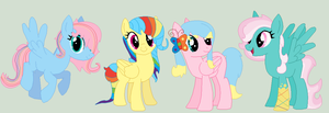Flutterdash Shipping Adoptables (CLOSED) by Scribbles-Adopts