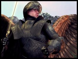 Archangel Michael by Everild-Wolfden