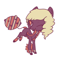 Cushion pony adopt auction. - clossed- by OfficerMittens
