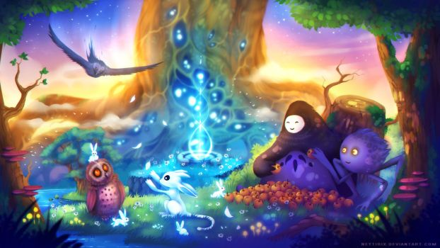 Ori and the Blind Forest by Neytirix
