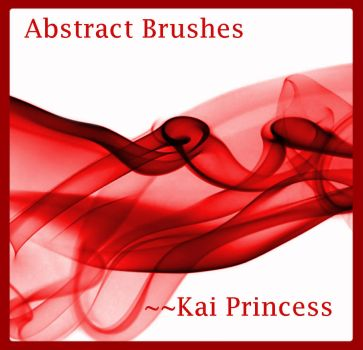Abstract Brushes New by KaiPrincess