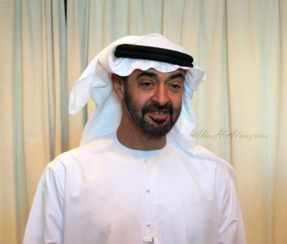 H.H. Sheik Mohamed Bn Zayed by 3LooYaH