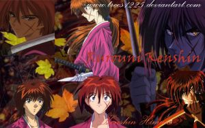 Kenshin wallpaper by Trees1225