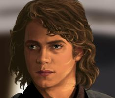 Anakin Skywalker by afrodite