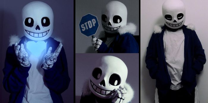 Sans cosplay by paurachan