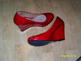 My Red Shoes by Samantha-Bartlett