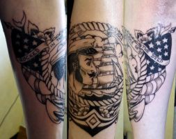 sailor tattoo by Shadow3217