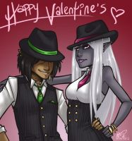 Pinstripes for Valentine's by CaptainMoony