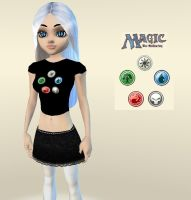 IMVU MTG shirt female by elvenbladerogue