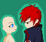 Sasori x OC Chibi Base by Inu-leo