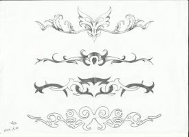 lower back tattoo design by sasan-ghods