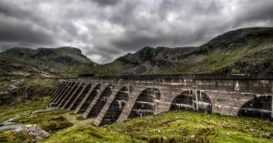 Stwlan Dam by CharmingPhotography