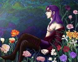 The Man Among his Flowers by BishonenMistress