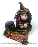 Violet The Witch Of Hearts by HeartshapedCreations