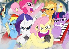 My Little Rock Band by DrMeloche