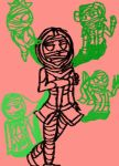 the many faces of Ermac by BurnedClouds
