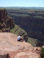 Break at the Grand Canyon by znipes
