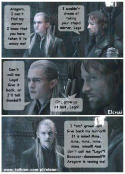 Comic - 'That mean Aragorn' by Viggo-Lovers