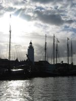 a Dutch Harbour by Toefje-Kunst