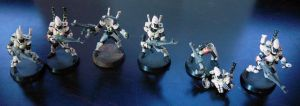 First Painted Minis by Girot