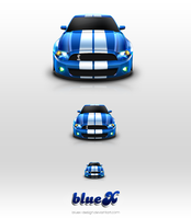 shelby gt500 icon by BlueX-Design