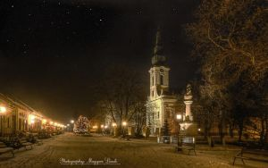 The in My Town. HDR-picture. by magyarilaszlo