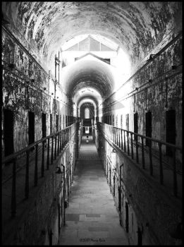 Eastern State Penitentiary by bw-photography