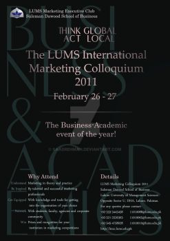 Lums Marketing Colloquium by saadrehman
