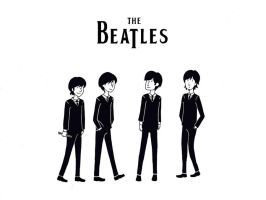 The Beatles by SuzumeChan