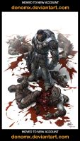 Gears of War PinUp 1 by dannlord